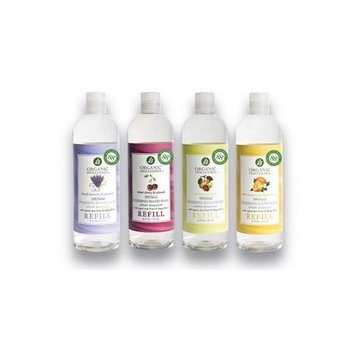 Organic Indulgence Foam Hand Wash Refill Organic Orchard Pear and Fig 16 Ounces ( Multi-Pack)
