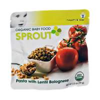 Sprout Pasta with Lentil Bolognese Organic Baby Food