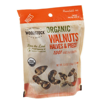 Woodstock Walnuts Halves & Pieces Organic