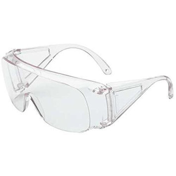 Dalloz Safety Polysafe Economical Wide Vision Safety Glasses With Clear Lens WLS11180031
