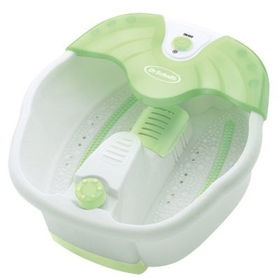 Dr. Scholl's Invigorating Aromatherapy Foot Spa With Bubbles Includes Aromatherapy Scented Powder
