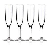 Test Unbreakable Champagne Flute 6oz, 4pk