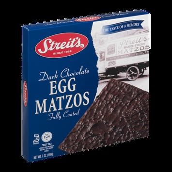 Streit's Dark Chocolate Egg Matzos