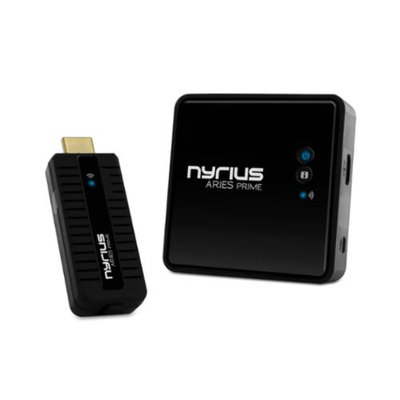 Nyrius ARIES Prime Wireless HDMI Transmitter & Receiver for HD 1080p 3D Video Streaming - NPCS549