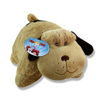 Pillow Pets 18 Inch Folding Stuffed Animal - Snuggly Puppy