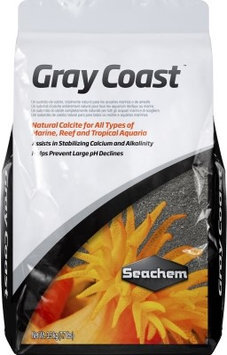Royal Pet Products Seachem Gray Coast Calcite Substrate 7.7lb