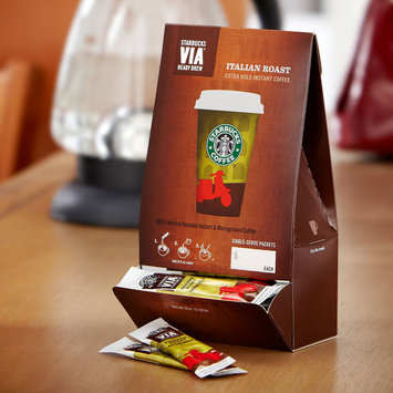 Strbuk Starbucks VIA? Ready Brew Italian Roast, 50 count