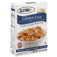 Glutino Gluten Free Corn Rice Flakes Frosted Sensible Beginnings Cereal