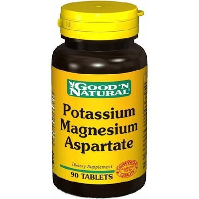 Potassium Magnesium Aspartate (50/50 mg) 90 Tablets, Good 'N Natural