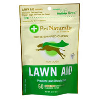 Pet Naturals Chicken Liver Lawn Aid Bone-Shaped Chews for Dogs
