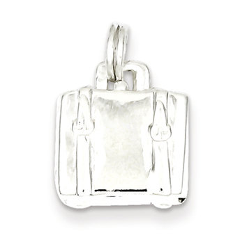 Cellini, Inc goldia Sterling Silver Suitcase Charm