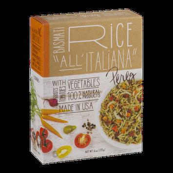 Pereg Basmati Rice All' Italiana