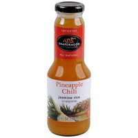 Snapdragon Pineapple Chili Vinaigrette, 10.1-Ounce Glass Bottles (Pack of 6)
