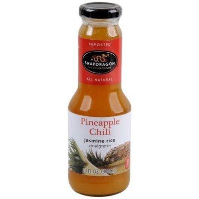 Snapdragon Pineapple Chili Vinaigrette, 10.1-Ounce Glass Bottles (Pack of 6)