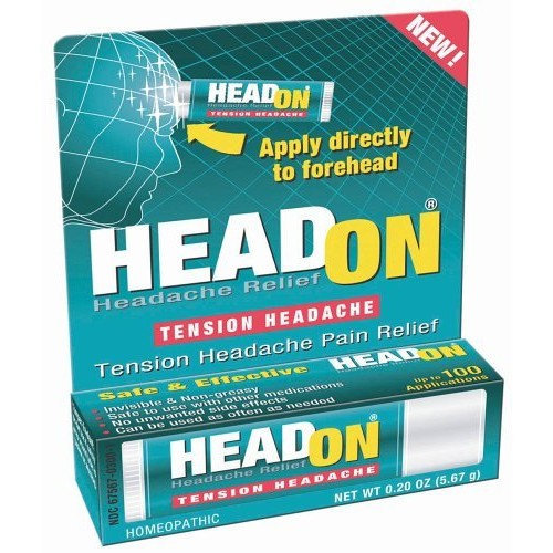 HeadOn - Apply Directly to Forehead Tension Headache Relief  2 oz