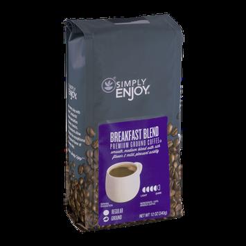 Simply Enjoy Breakfast Blend Ground Coffee