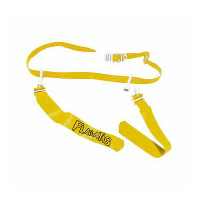 Sport Supply Group Inc Gold Sonic Boom Flag Belt - 52