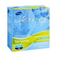 CareOne Jewel Unscented Tampons - 18 CT