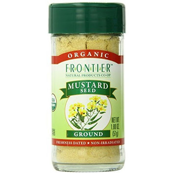 Frontier Natural Products Mustard Seed, Og, Yel, Grnd, 1.80-Ounce