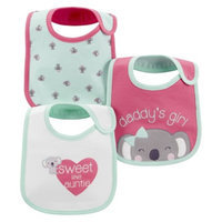 Just One You Made by Carter's Just One YouMade by Carter's Newborn Girls' 3 Pack Koala Bib Set -