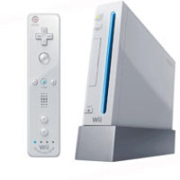 Nintendo Wii System with New Motion Plus - White