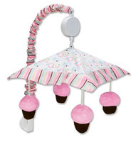 Trend Lab Cupcake Musical Mobile Pink