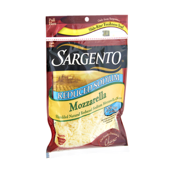 Sargento® Reduced Sodium Mozzarella Shredded Cheese