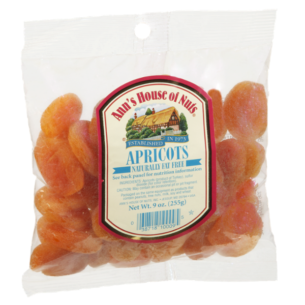 Ann's House of Nuts Naturally Fat Free Apricots