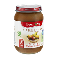 Beech-Nut® Homestyle Stage 3 Cinnamon Raisin & Pears