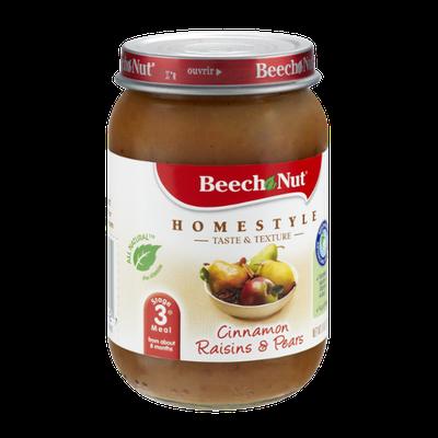 Beech Nut Homestyle Stage 3 Cinnamon Raisin & Pears
