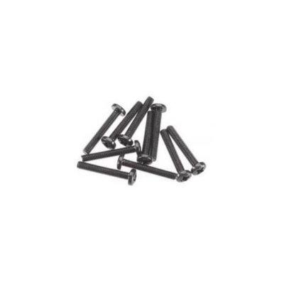 Axial AXA669 Binder Head M3x20mm Black (10)