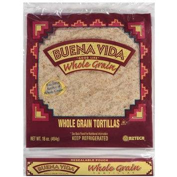 Azteca Buena Vida Whole Grain Tortillas, 16 oz