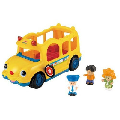 Fisher Price Fisher-Price Little People Lil' Movers School Bus