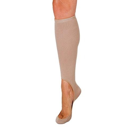 Keysocks Women's No Show Sock Liners Standard Original [Brown, One Size Fits Most]