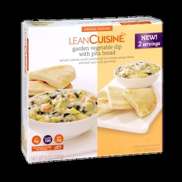 Lean Cuisine Garden Vegetable Dip with Pita Bread
