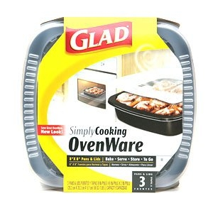 Glad SimplyCooking OvenWare 8 x 8 inches