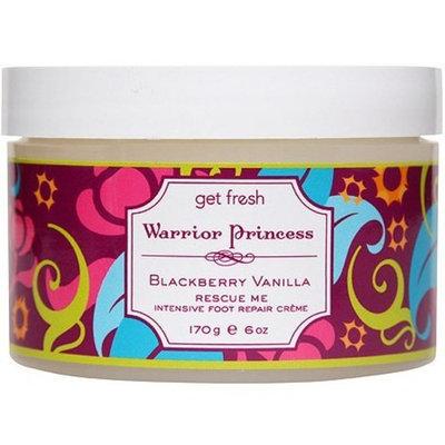 Get Fresh Warrior Princess Rescue Me Foot Crème, Blackbery Vanilla