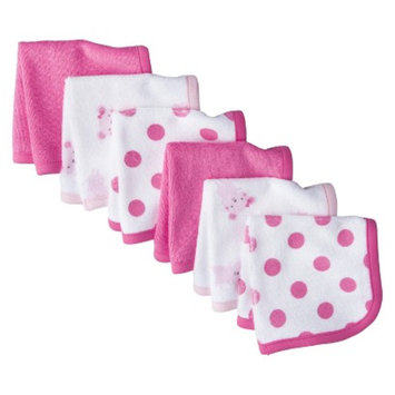 Just One You Made by Carter's Just One YouMade by Carter's Newborn Girls' 6 Pack Mouse Washcloth