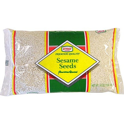 Ziyad Sesame Seeds 16 oz (white hulled sesame seeds)