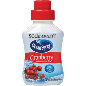 SodaStream Ocean Spray Cranberry Sparkling Juice Mix