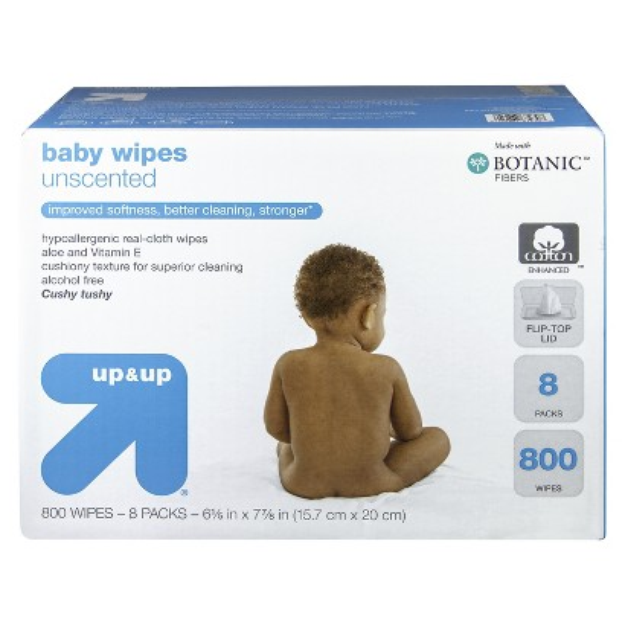up & up Unscented Baby Wipes Refill Pack 800 ct