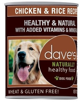 Dave's Pet Food Dave's Naturally Healthy Chicken And Rice Canned Dog Food