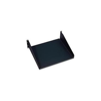 C2G Cables To Go 08465 APW SOLID CANTILEVERED EQUIPMENT SHELF BLACK 19in