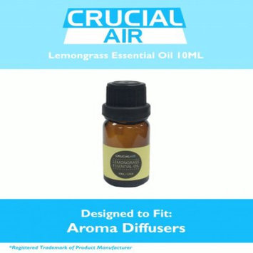 Crucial Air Soothing Lemongrass Infused Essential Oil for Aromatherapy, 10 ml