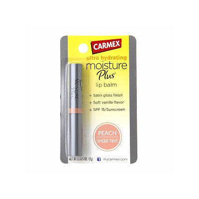 Carmex Ultra Hydrating Moisture Plus Lip Balm with SPF 15