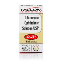 Tobramycin Ophthalmic Solution 0.3% [Options : 0.3% Opthalmic Solution]