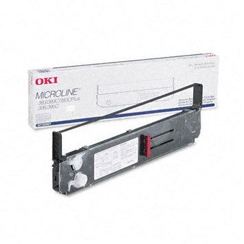 Oki OKI52103601 Microline 393 Nylon Printer Ribbon, Black