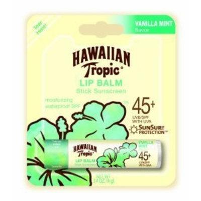 Hawaiian Tropic Lip Balm SPF 45+ - Vanilla Mint