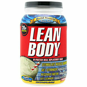 Labrada Nutrition Lean Body Hi-Protein Meal Replacement Shake Powder Vanilla