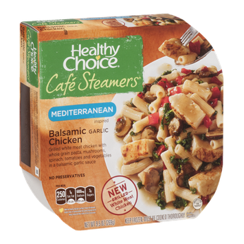 Healthy Choice Cafe Steamers Mediterranean Inspired Balsamic Garlic Chicken